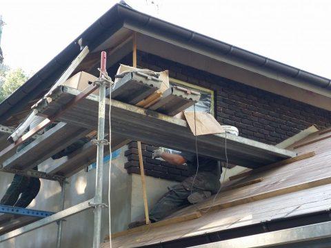 Karkasinio namo renovacija, Bukčiai
