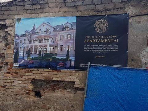 Grafų Pliaterių rūmų apartamentai