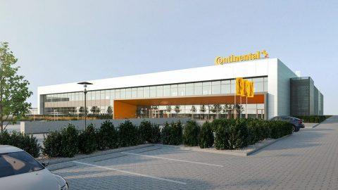 CONTINENTAL gamykla, Kaunas