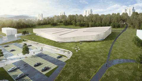 Lazdynų olimpinis baseinas, Vilnius