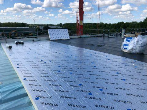 Plokščio stogo įrengimas, Belgija